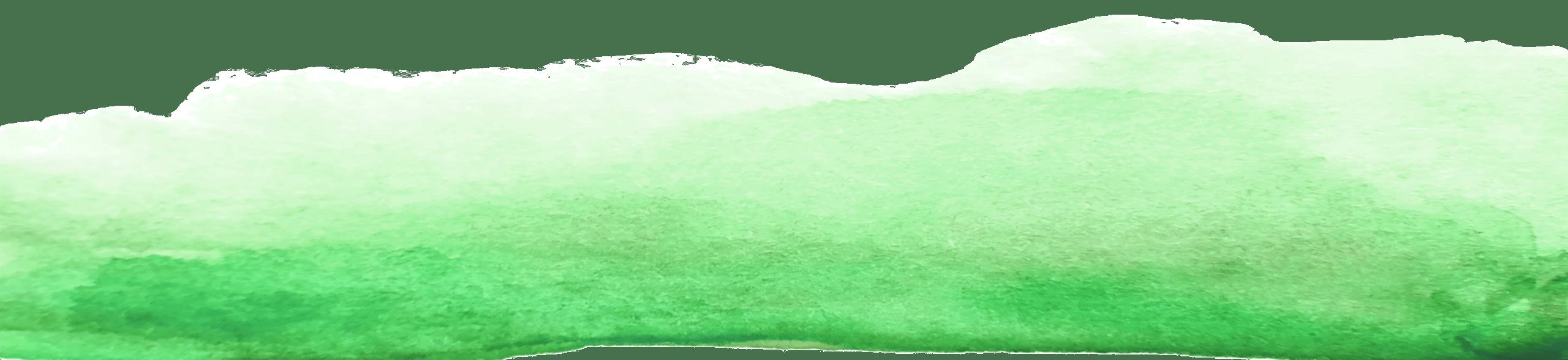 Unterer Grüner Pinselstrich